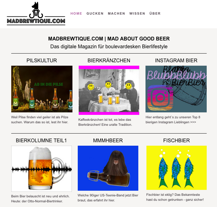 Screenshot madbrewtique.com